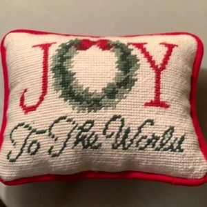 Joy To The World accent pillow